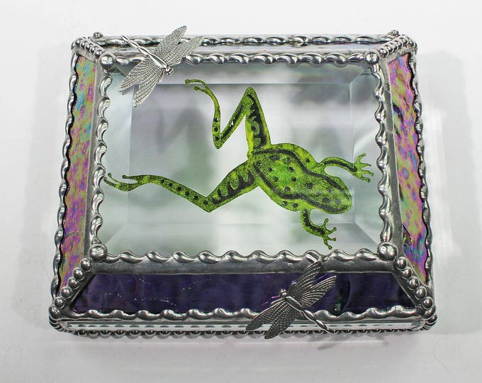 Frog -Treasure Box