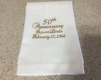 Anniversary Hand Towel