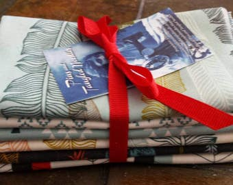 6 Fat Quarter's,  Urban chicks, Moda, 100% Cotton, Fabric, Quilt Fabric