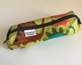 Pencil Case, Pencil Pouch, School Supply – Dinosaurs -- Toiletry & Cosmetics Bag