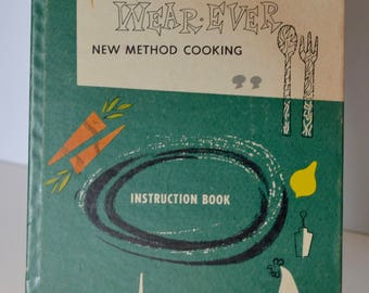 1950s Wear-Ever New Method Cooking book