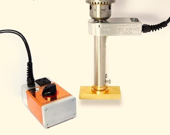 Drill Press Mount Electric Branding Iron (100% Made in the USA!)