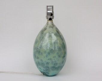 Aqua Crystalline Lamp
