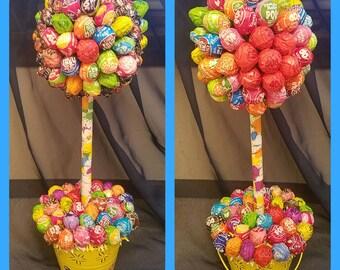Tootsie Pop Lollipop Topiary
