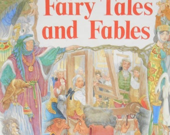 Copyright 1987 (19-E) The Best of Fairy Tales and Fables, Illustrated by Eric Kincaid, Published by Brimax Books, Newmaket, England