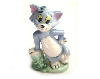 Wade MGM Tom - From the Tom & Jerry series 1973-79. - Wade Tom - Wade - Wade Tom - Tom and Jerry - Wade MGM - Wade Figurines - Wade Whimsies