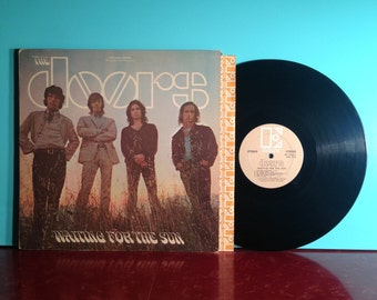 The Doors Waiting For The Sun Vinyl Record Album LP 1968 Gatefold Psych Classic Rock Music Jim Morrison Near Mint - Condition Vintage