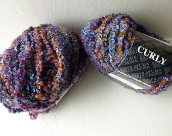 Yarn Sale  - Purples 137 Curly  by Filatura DiCrosa Yarn