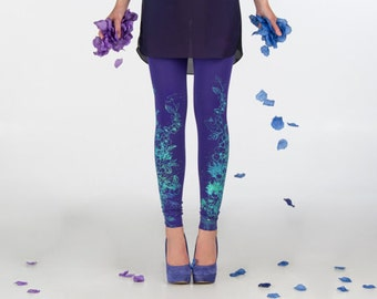 Violet fields - leggings