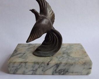 Art Deco bronze bitd sculpture.  (BX 01 )