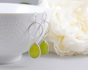 The Shauna Earrings -Green