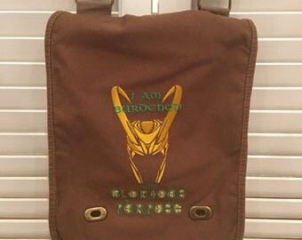 Loki messenger bag Burdened with Glorious Purpose