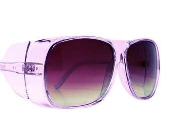 90s Festival Fly Shades, Purple Sunglasses, Burning Man Goggles, Pilot Glasses, Aviators, Flight Goggles, Unisex Sunnies, Playa Perfect