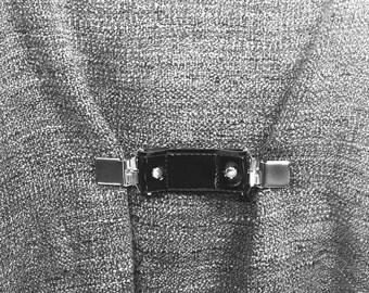 SMALL WAIST black Mini belt