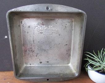 """Bake King Vintage Bakeware Metal 8"""" x 8"""" Pan"""