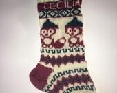 Christmas stockings - custom made
