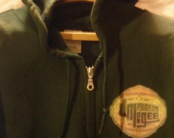 umphreys mcgee  ZIP UP hooded sweatshirt