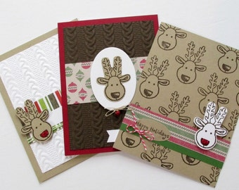 Rudolph the Red Nosed Reindeer Christmas Card Set