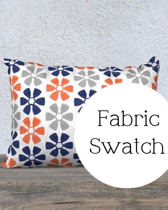 Fabric Swatch: Pinwheel Velveteen Series