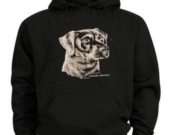 Labrador Retriever sweatshirt - Dog breed black lab shirt