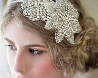 Wedding Headband, wedding hair, headband, headpiece, bridal, wedding, bride, hair accessory, bridesmaid