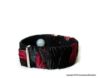 H7 Anxiety/Stress Relief Acupressure Bracelet for Sleeplessness, Palpitations, Nausea (one bracelet) Manhattan