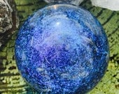 Contemporary art glass Galaxy Marble