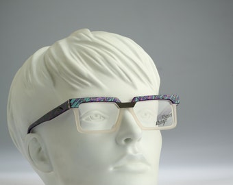 Robert Rudger Mod 120 51  / Vintage eyeglasses & sunglasses / 90S unique and rare