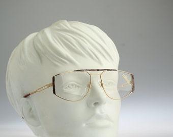 Silhouette M 6152 V 6052 / Vintage eyeglasses and Sunglasses /  NOS / 80's rare and unique aviator prescription frame