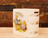 Vintage Classic Pooh Book Bank