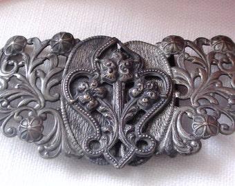Art Nouveau late 1930's Belt Clasp