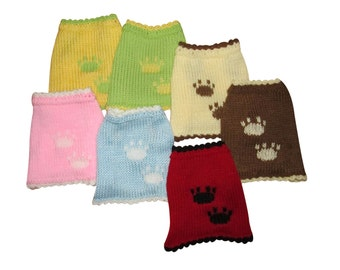Small dog sweaters dog coats pet sweaters dog clothes in different colours puppy jumpers, puppy sweaters clothes for dogs clothes for pets
