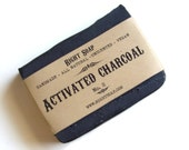 Charcoal  Soap - All Natural soap, Unscented Soap, Vegan Soap, detox soap,  Men soap,  face soap,  gift for men,  soap Christmas gift
