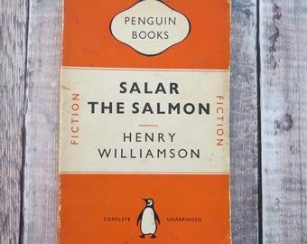 Henry Williamson Penguin Classic Book - Salar the Salmon - Penguin Books - Literature Gift for Book Lover