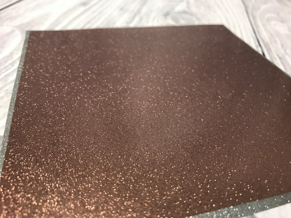 Rose gold permanent adhesive vinyl real sparkle outdoor for Rose adesive