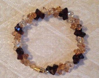 Brown Swarovski Bracelet