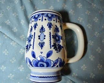 A Hand Painted Mug from Delft Holland