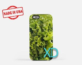 Lettuce iPhone Case, Romaine iPhone Case, Lettuce iPhone 8 Case, iPhone 6s Case, iPhone 7 Case, Phone Case, iPhone X Case, SE Case New