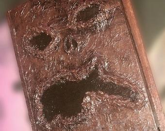 Ash Vs Evil Dead Necronomicon Storage Book Horror Prop Halloween Handmade Book Box Fan Art Collectible