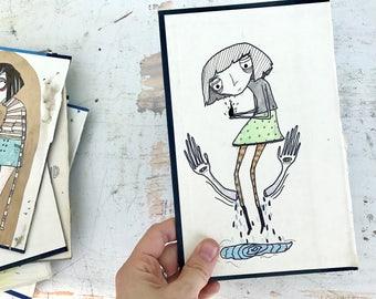 Hold Tight - Original Illustration