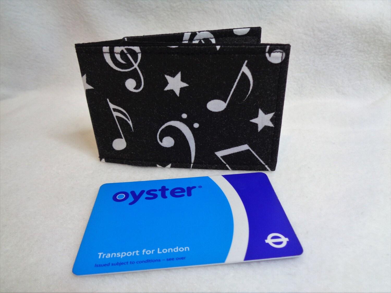 Musical notes design oyster card wallet musical gift credit card musical notes design oyster card wallet musical gift credit card holder business card colourmoves