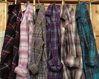 Design your own flannel, Personalized Flannel, choose your shirt then choose your words, custom flannel, flannel with a purpose