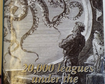 20,000 Leagues Under the Sea - Jules Verne - Hardcover Book