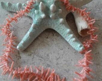 Mediterranean  Vintage Branch Coral Necklace, Italy.