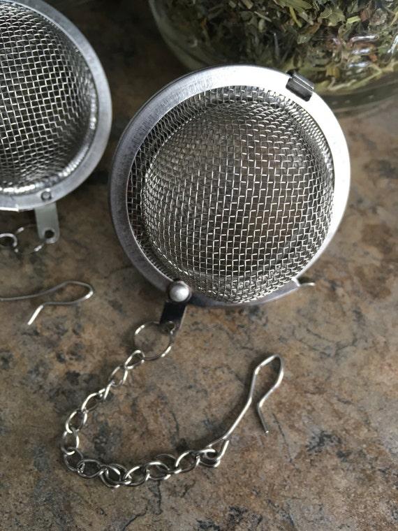 Stainless Steel Reusable Mesh Tea Ball for Looseleaf Teas