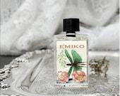 Natural Perfume oil, Emiko, Blood Orange, Gardenia, Apricot, Coconut, Blond Woods, Botanical Perfume 5 ml Artisan perfume Gourmand Perfume