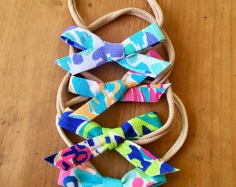 Baby Lilly Pulitzer Hair Bows 3 Pack