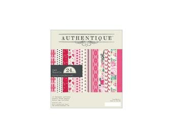 """Authentique - 6""""x6"""" Paper Pad - Beloved - Valentines"""