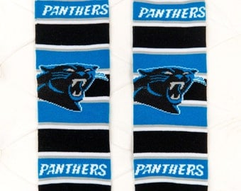 Carolina Panthers Baby Leg Warmers