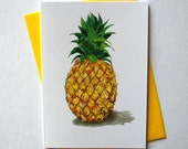 Pineapple Greeting Card + Envelope